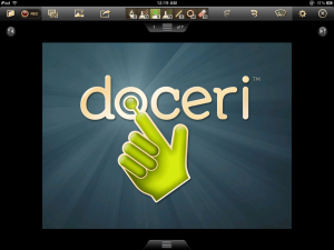 Doceri Screen