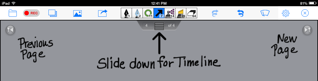 Timeline-hidden